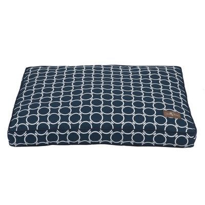 "Jax and Bones Harbor Occassional Outdoor Rectangular Pillow Bed Size: Large (42"" L x 36"" W)"