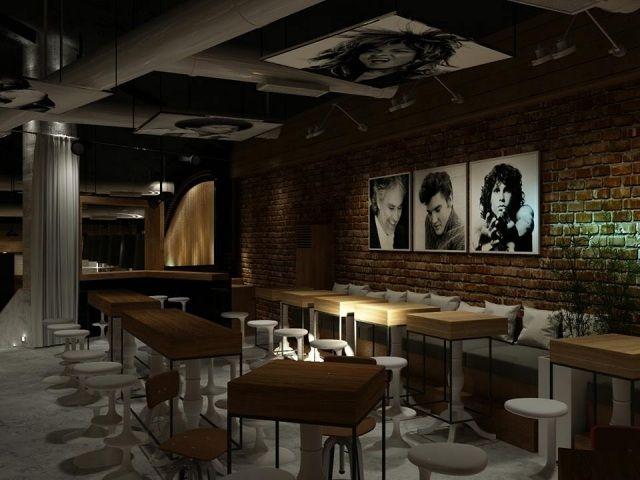 Hervorragend Retro Nachtclub Lozenetz Projekte Innenarchitekt Kapitanov