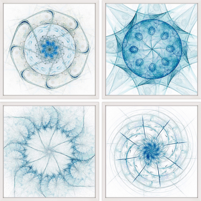 Dimensions Quadriptych