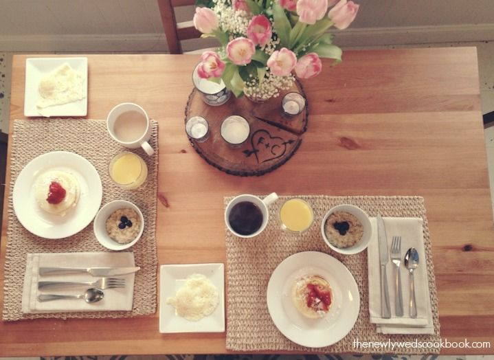 Breakfast Table - The Newlyweds Cookbook