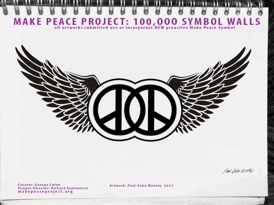Make Peace Project 4000 Nyc Street Artists Use New Make Peace