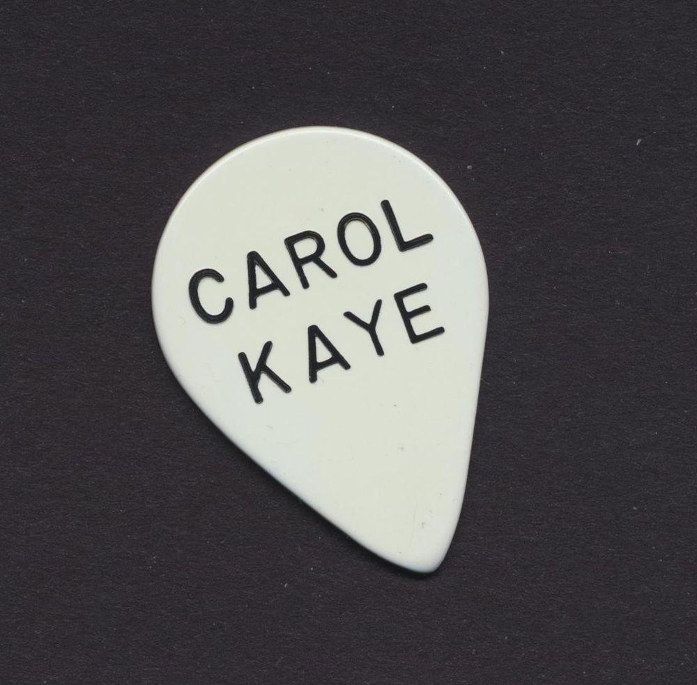 Carol Kaye bass guitar pick - extra heavy gauge