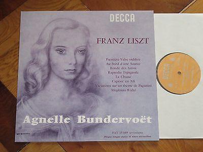 archived! $ 490 | Agnelle Bundervoet Liszt Recital French Decca Fat 173689 Reissue Lim #vinyl https://t.co/uHBtvbXJTh