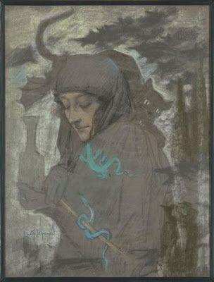 Snövits äpple: The symbolist art of Lucien Levy Dhurmer