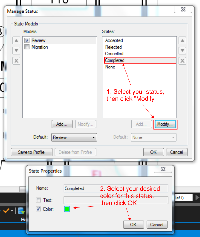 Bluebeam Tip How To Assign Colors To Markup Statuses Tutorial Tips Status
