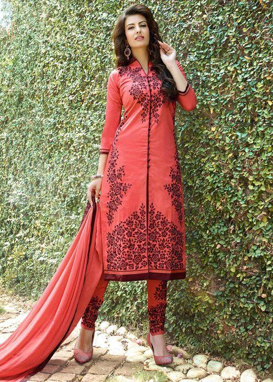 Latest #Indian Designer #Churidar Suits #SalwarKameez Collection 2015-2016 (16)