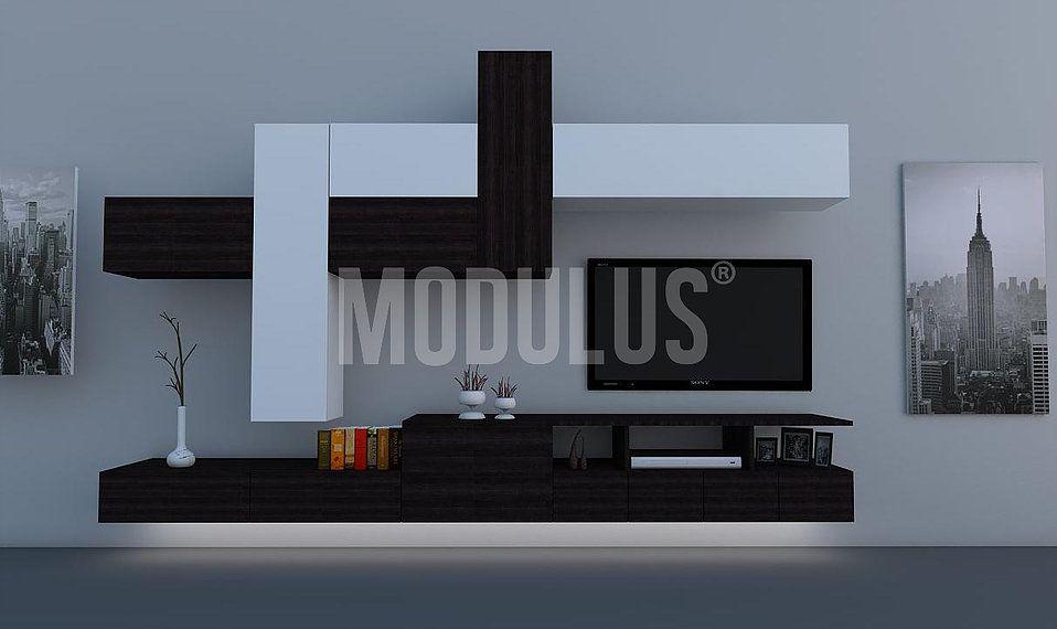 Modulares Para Living Tv Lcd Led Wall Unit Muebles Para Tv Racks Rack Modulares Muebles Para Lcd Muebl Muebles Minimalistas Muebles Muebles Modulares