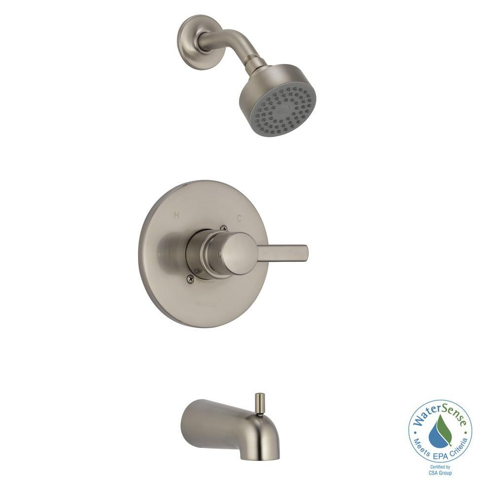 Peerless Precept 1 Handle Wall Mount Tub And Shower Faucet Trim