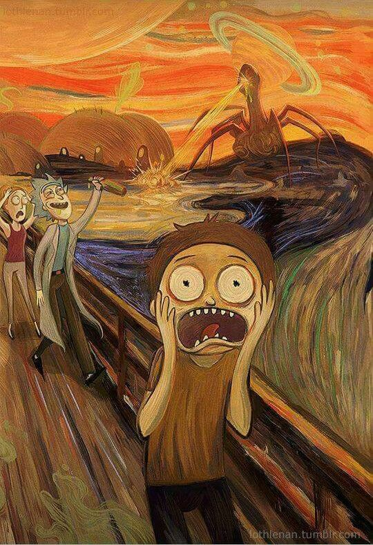 P I M B A In 2019 Rick I Morty Rick Morty Painting
