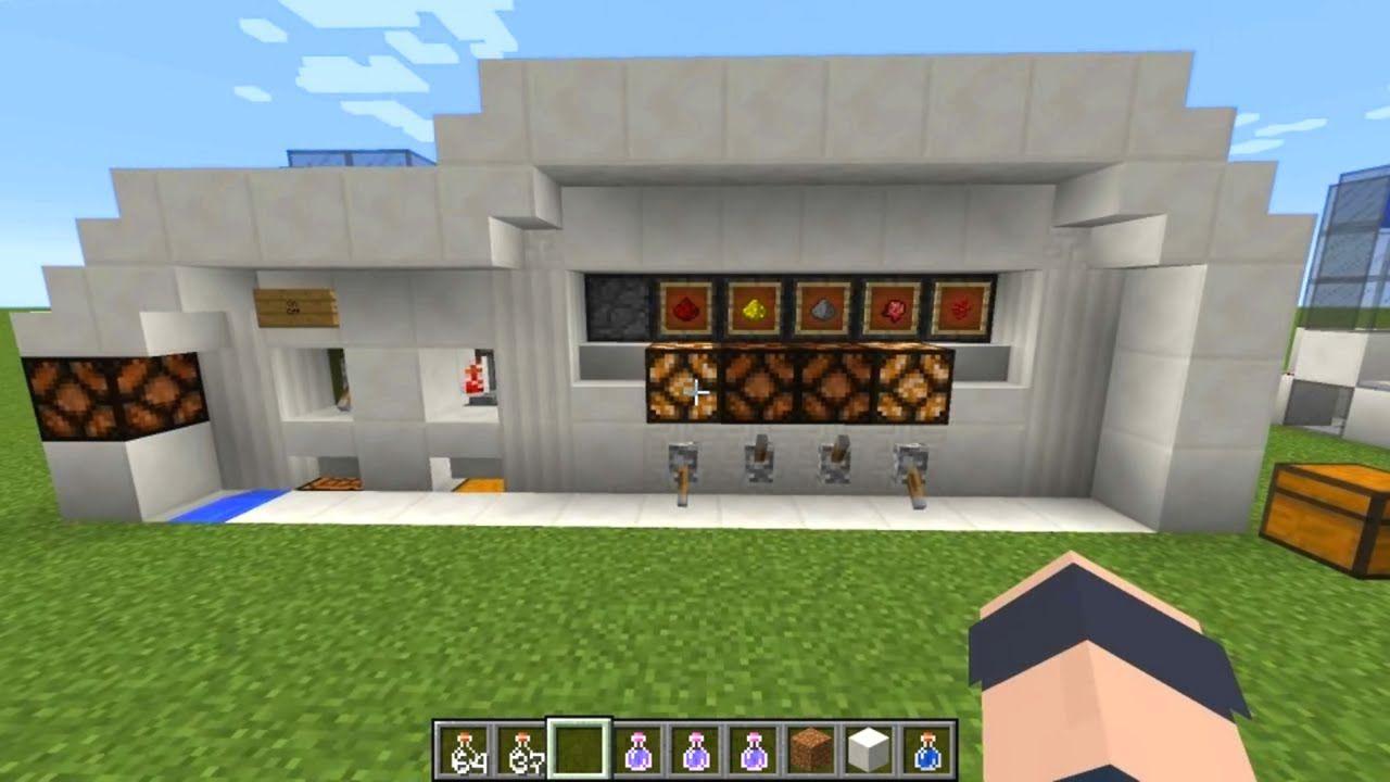 Minecraft Tutorial Automatic Potion Brewing Lab Minecraft