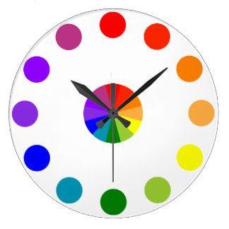 Numberless|RYB|色|車輪|時計4 時計
