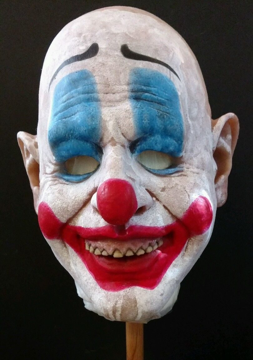 Donald Trump Latex Clown Mask Joker President Politician Halloween ...