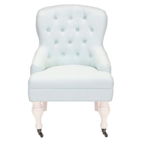 Best Target Safavieh Falcon Arm Chair Light Blue Linen 400 x 300