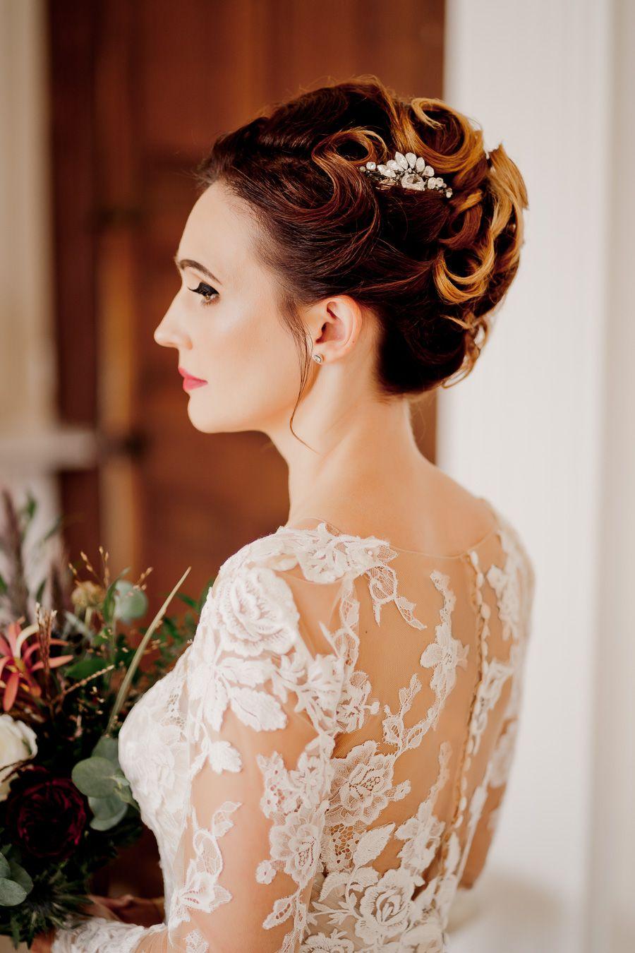 vanity fair inspired, elegant glamour from davenport house