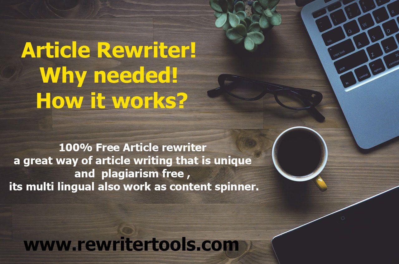 Free Article Spinner Online Tool I A One Click Rewriter That Require No Signup Or Registration If You Wa Seo Research Writing Paraphrasing Plagiarism Iu