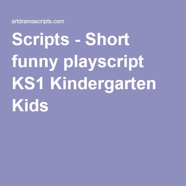 Classroom Skit Ideas : Scripts short funny playscript ks kindergarten kids