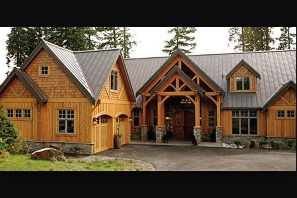 Best Cedar Siding Metal Roof In 2019 Cedar Homes Cedar Shake 400 x 300