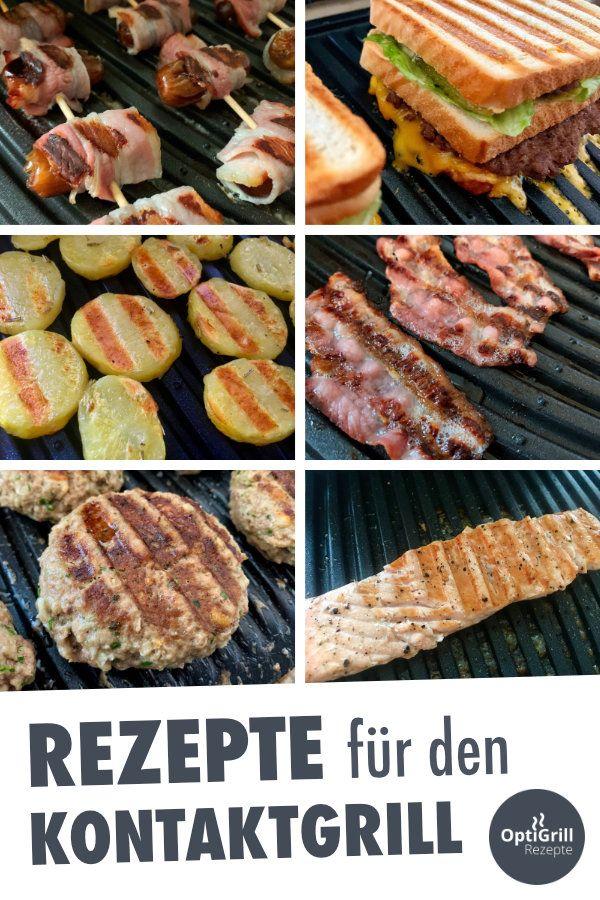 Kontaktgrill Rezepte: Fleisch, Fisch, Vegetarisch & Sandwiches grillen #vegetariangrilling