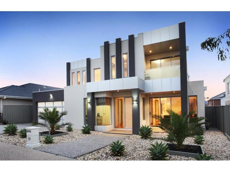 Photo of a house exterior design from a real Australian ...