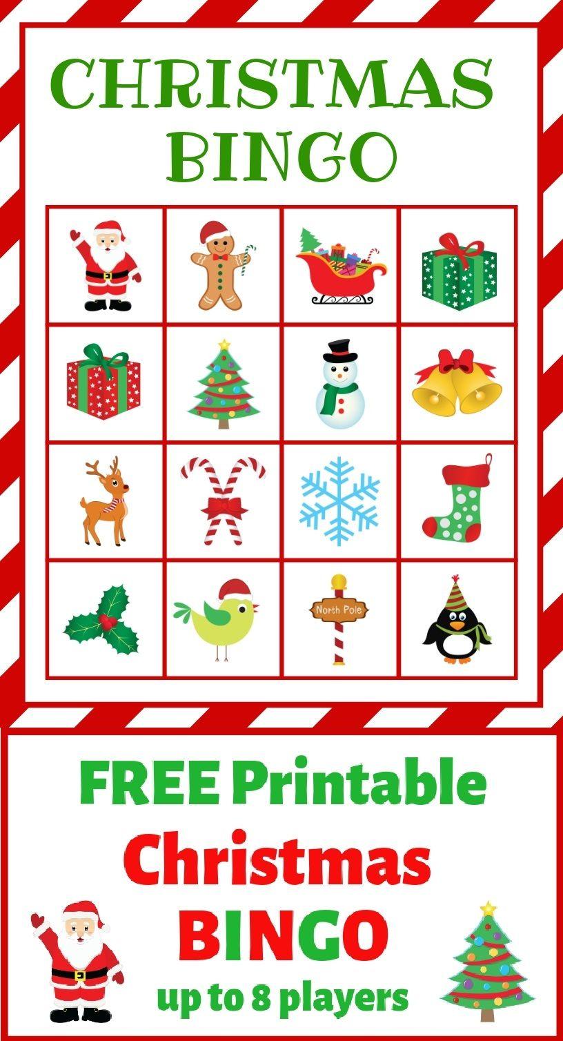 Christmas Bingo Free Printable Just What We Eat Christmas Bingo Free Christmas Printables Free Printables