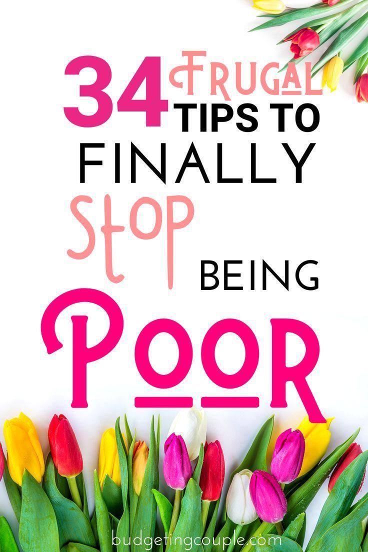 Frugal Living Guide: 34 Tipps, um sparsam zu leben * während * das Leben zu genießen