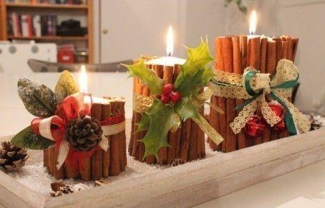 Come decorare la casa per natale con le candele profumate - Come fare le candele profumate in casa ...