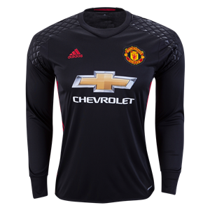 Manchester United 16 17 Ls Goalkeeper Jersey Check Out The Best In Soccer Goalkeeping Equipment And Gear A Goalkeeper Shirts Soccer Outfits World Soccer Shop