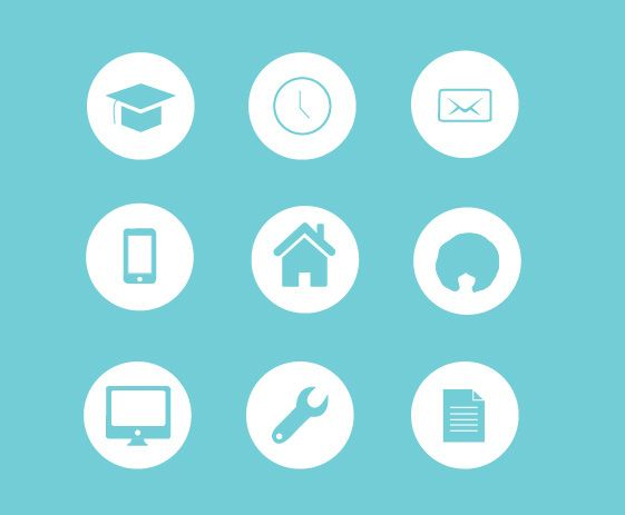 resume icons on behance