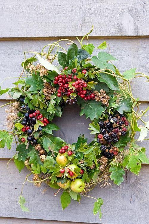 Suziworld couronne couronnes de fleurs pinterest couronnes couronnes de porte et vegetal - Couronne de porte ...