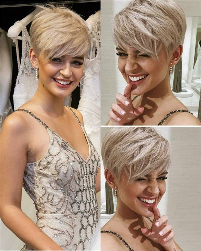 Stylish Edgy Pixie Cuts and Hairstyles, #PixieCut