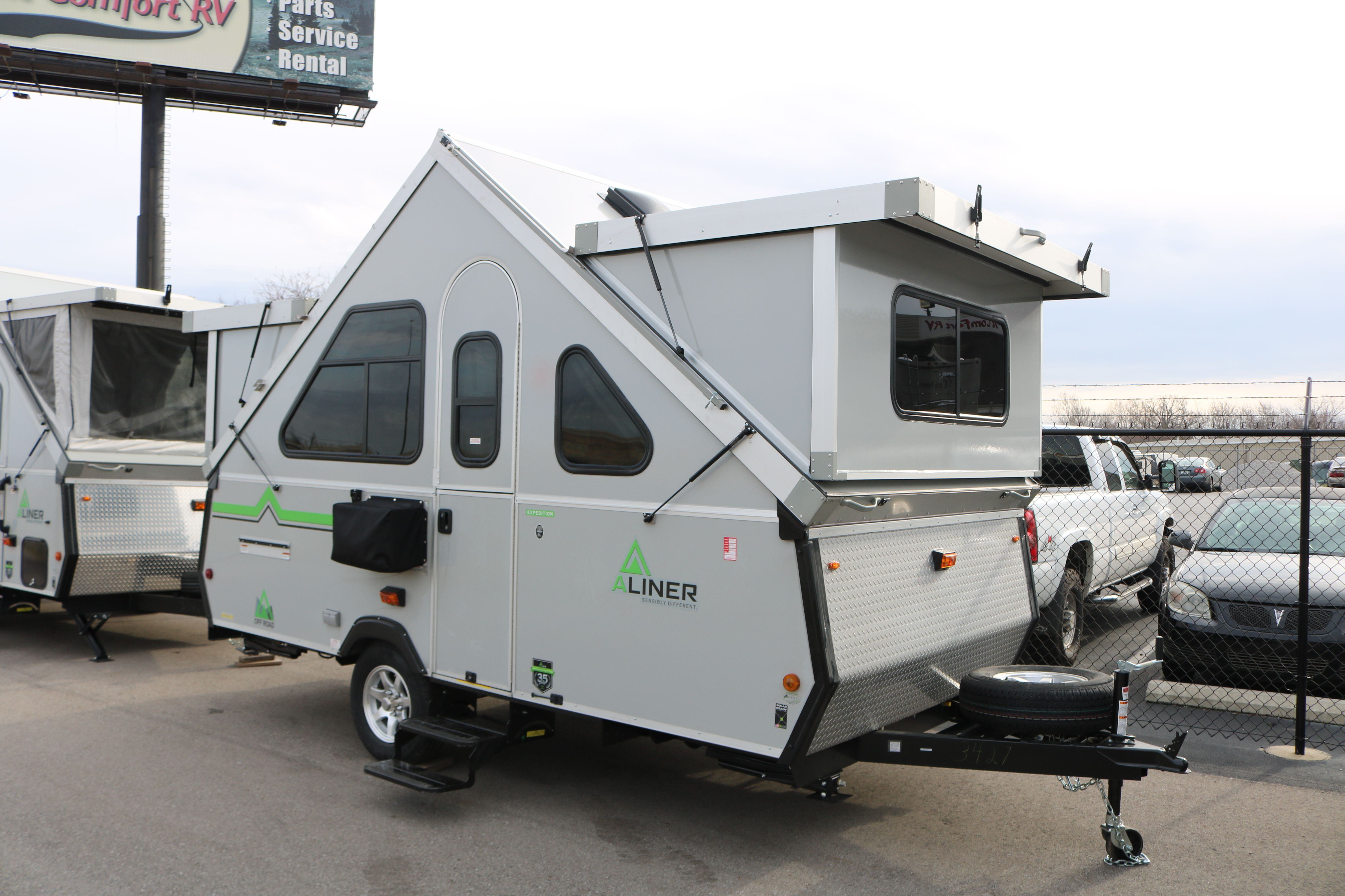 The Aliner Expedition Is Our Most Popular Aliner Model This Unit