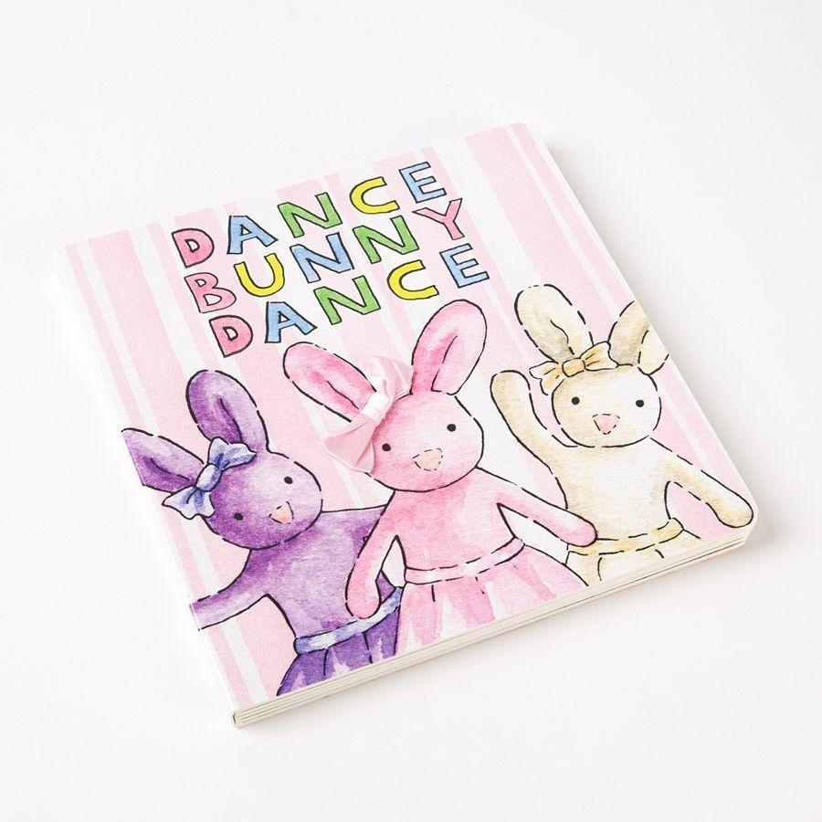 DANCE BUNNY DANCY BOARD BOOK BY JELLYCAT  (NEW) #Jellycat
