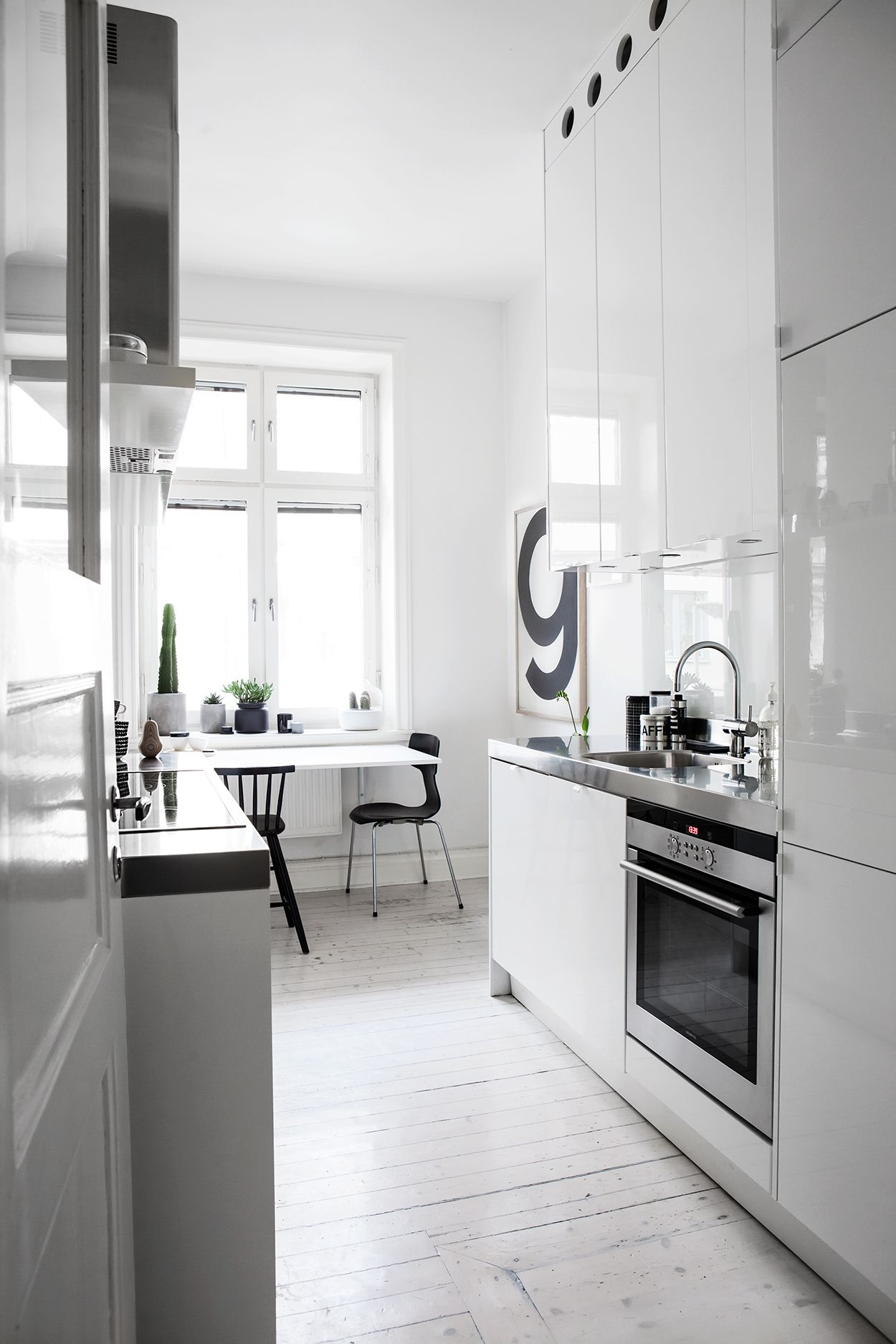 Playful monochrome home kitchen pinterest stockholm kitchens