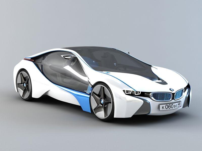 Bmw Vision Efficientdynamics 3d Model 3ds Max Files Free Download Modeling 46533 On Cadnav Car Model Bmw 3d Model