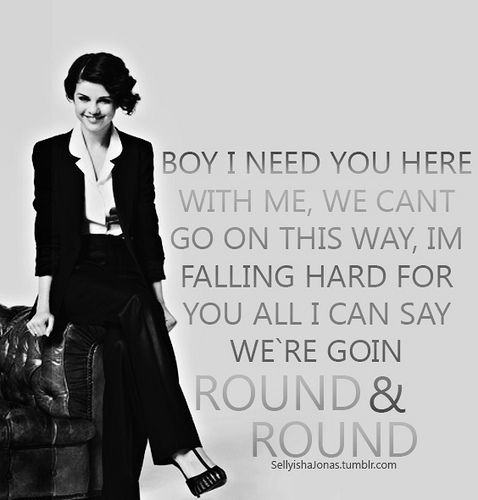 Round Round By Selena Gomez Song Memes My Love Song Selena