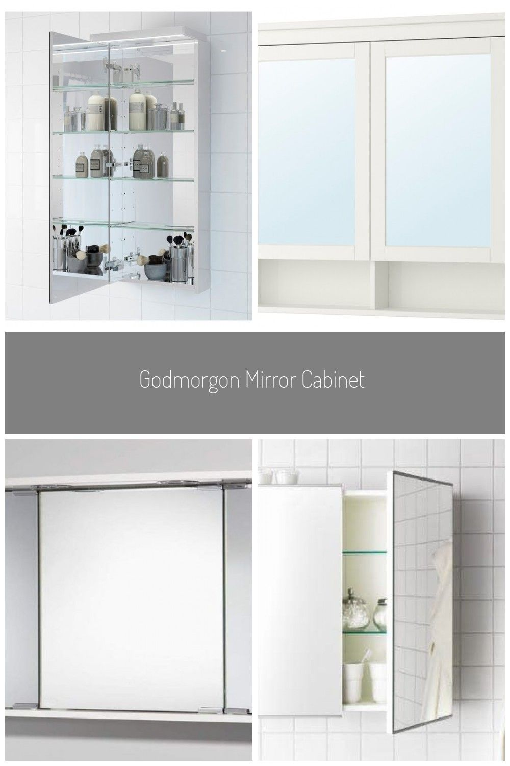 Godmorgon Mirror Cabinet With 1 Door Ikea In 2020 Badezimmer