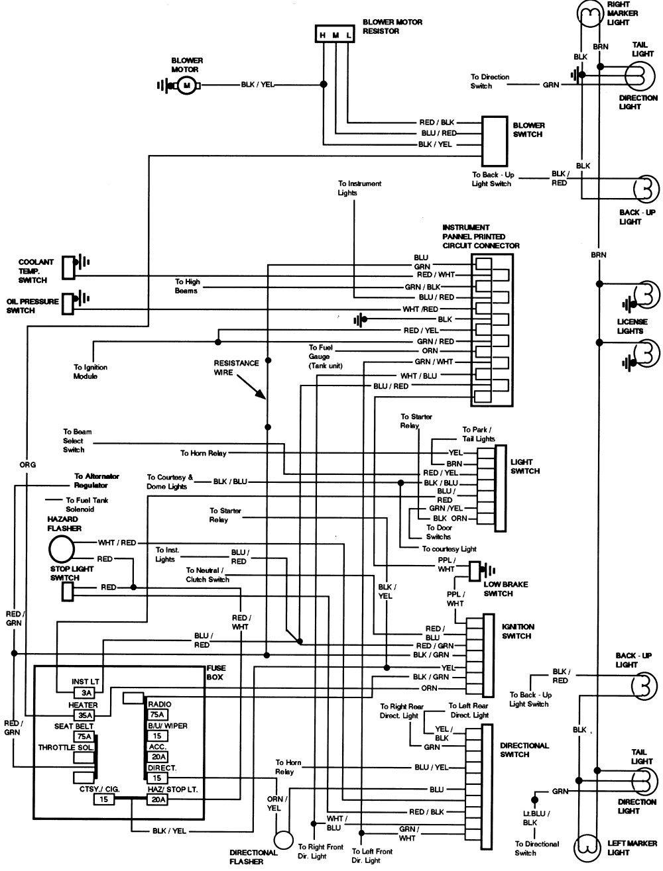 2000 Saturn Ignition Switch Wiring Diagram