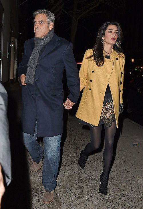 Amal Alamuddin And George Clooney Divorce: George's First ...