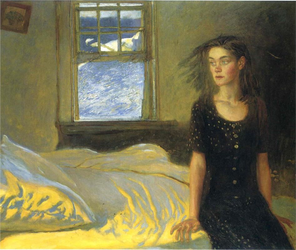 If once you have slept on an island - jamie wyeth, 1996
