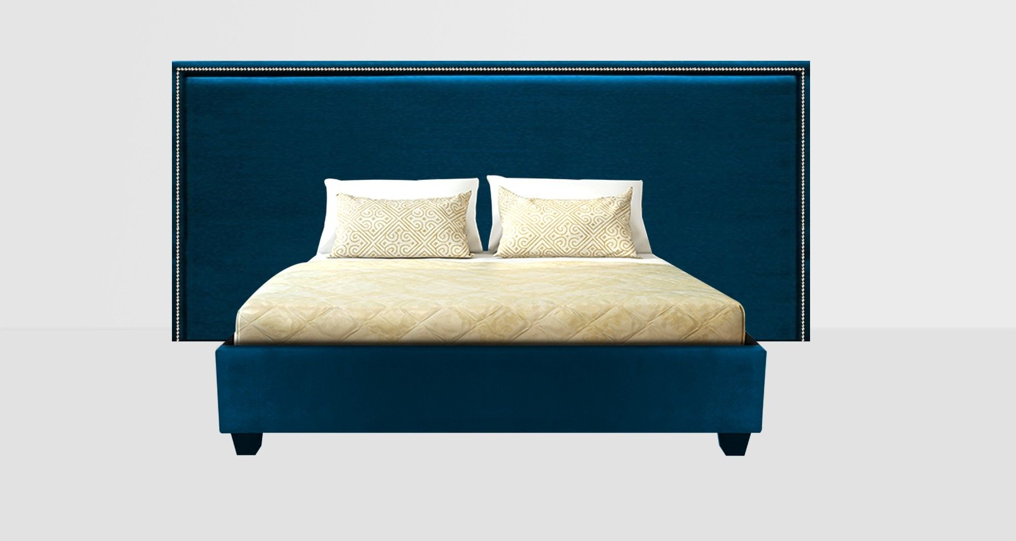 Astor extra wide bed head stylish bedroom bed bed head