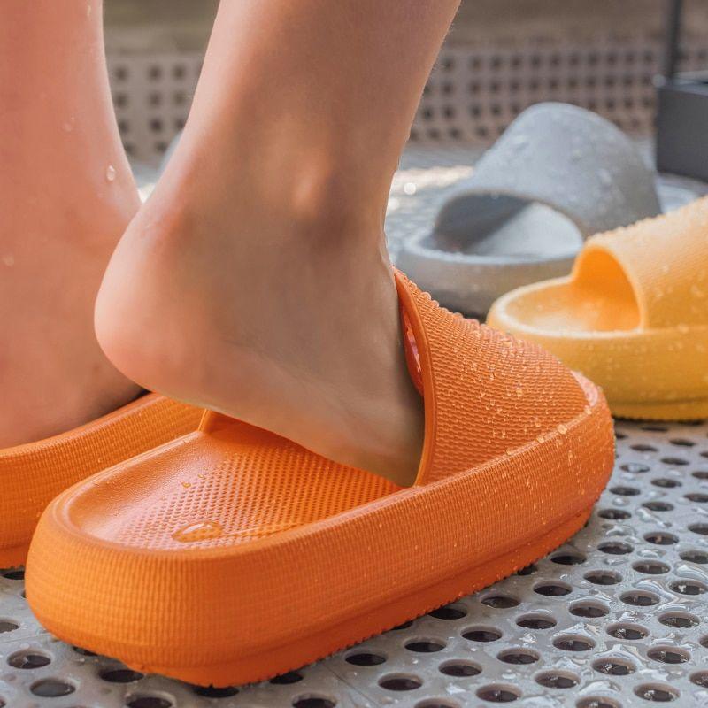 Photo of US $9.75 22% di SCONTO Donne di Modo di Estate Pantofole Sandali Da Spiaggia Diapositiva di Alta Tacchi Doccia di Spessore Morbido Suola Degli Uomini Delle Signore Delle Ragazze Dei Ragazzi Scarpe Da Bagno Pantofole    – AliExpress