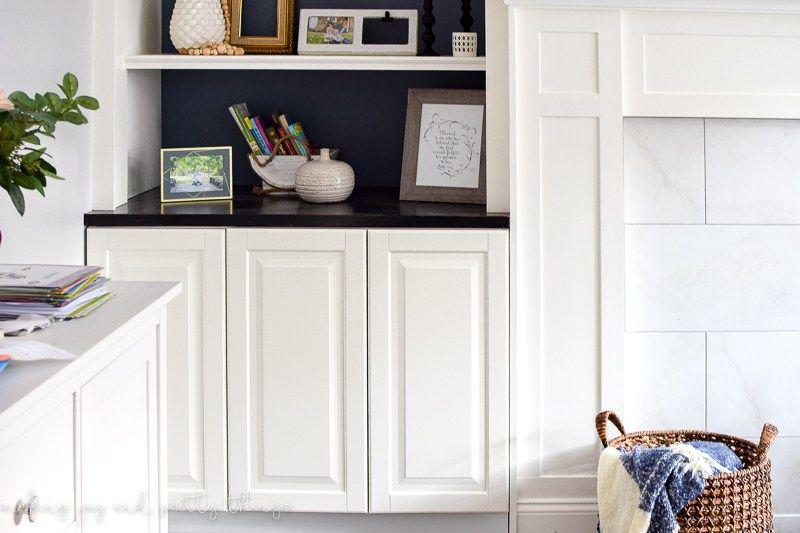 Ikea Hack Kitchen Cabinets Turned Built Ins Living Room Built Ins Ikea Hack Living Room Living Room Shelves