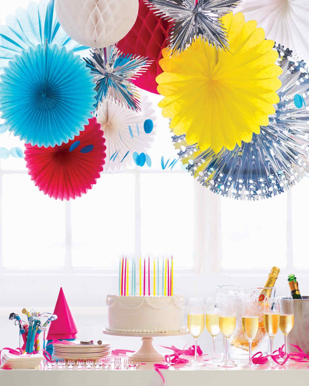 Birthday decorating party an adult for