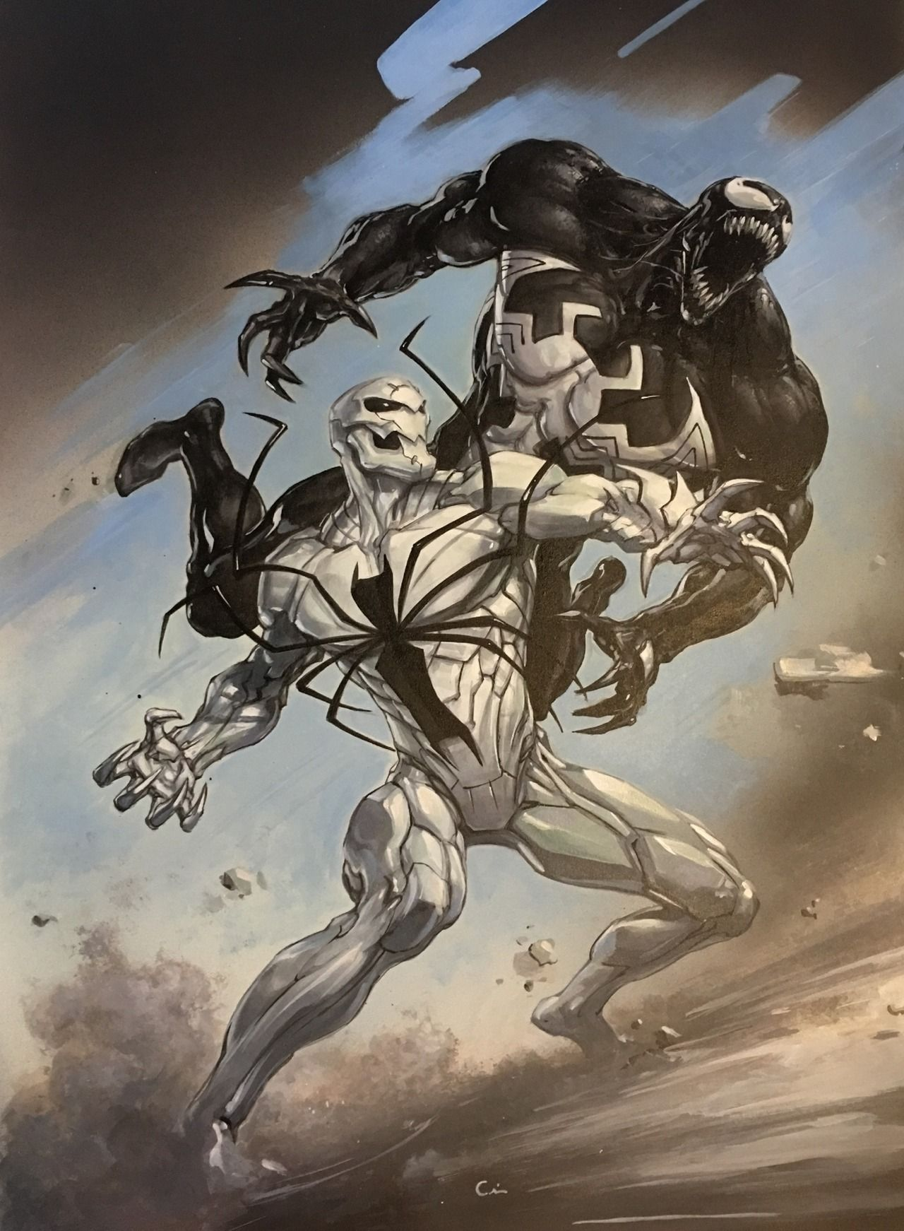 Image result for Anti-Venom marvel