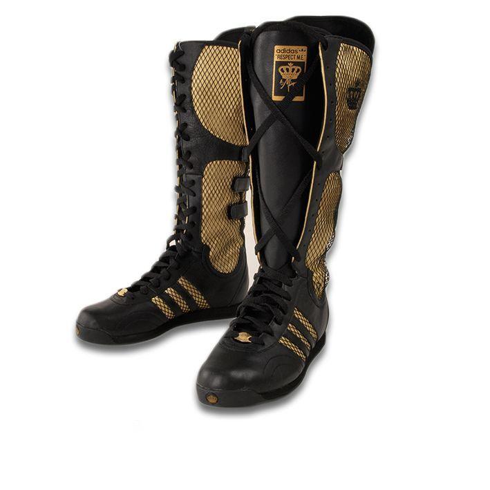 Missy Elliott adidas Originals Rhythm Boots Black*NEW* on