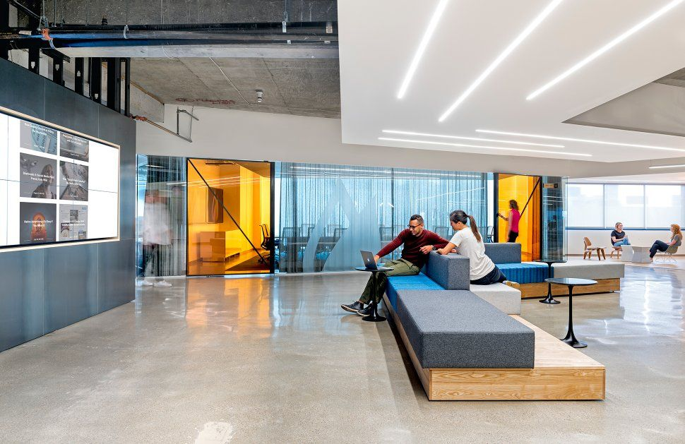 World 39 s coolest offices wide open spaces san francisco for Office design san francisco