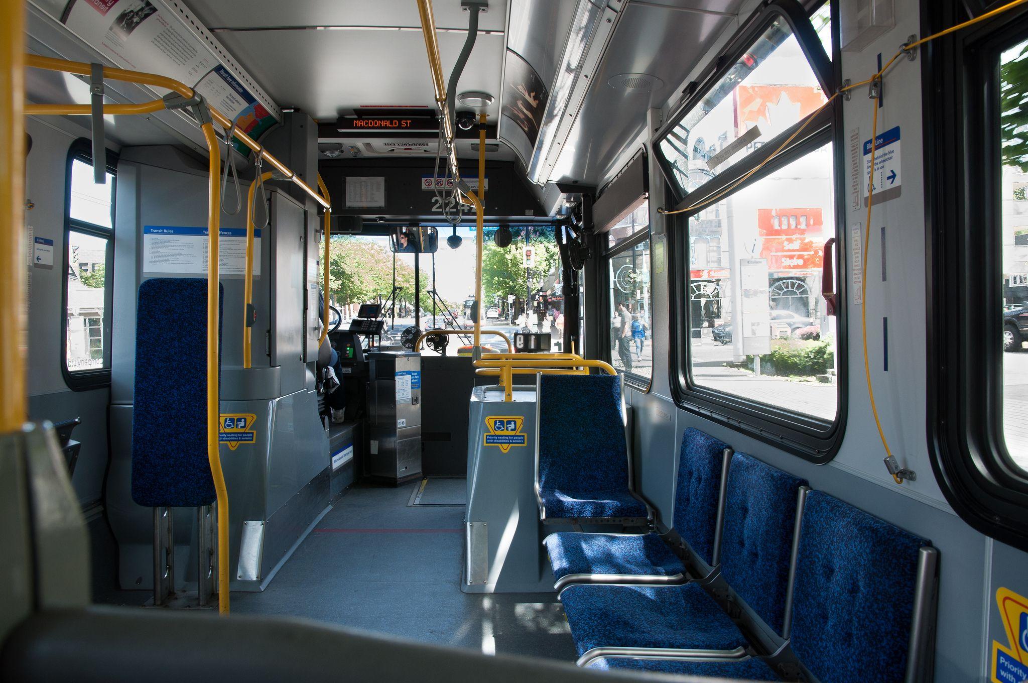 Translink Bus Interior With Images Bus Interior Interior