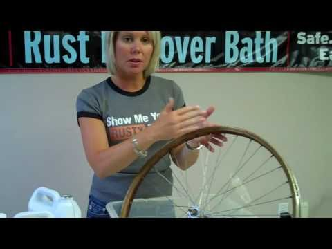 How To Remove Rust From Bike Rim How To Remove Rust Rust How