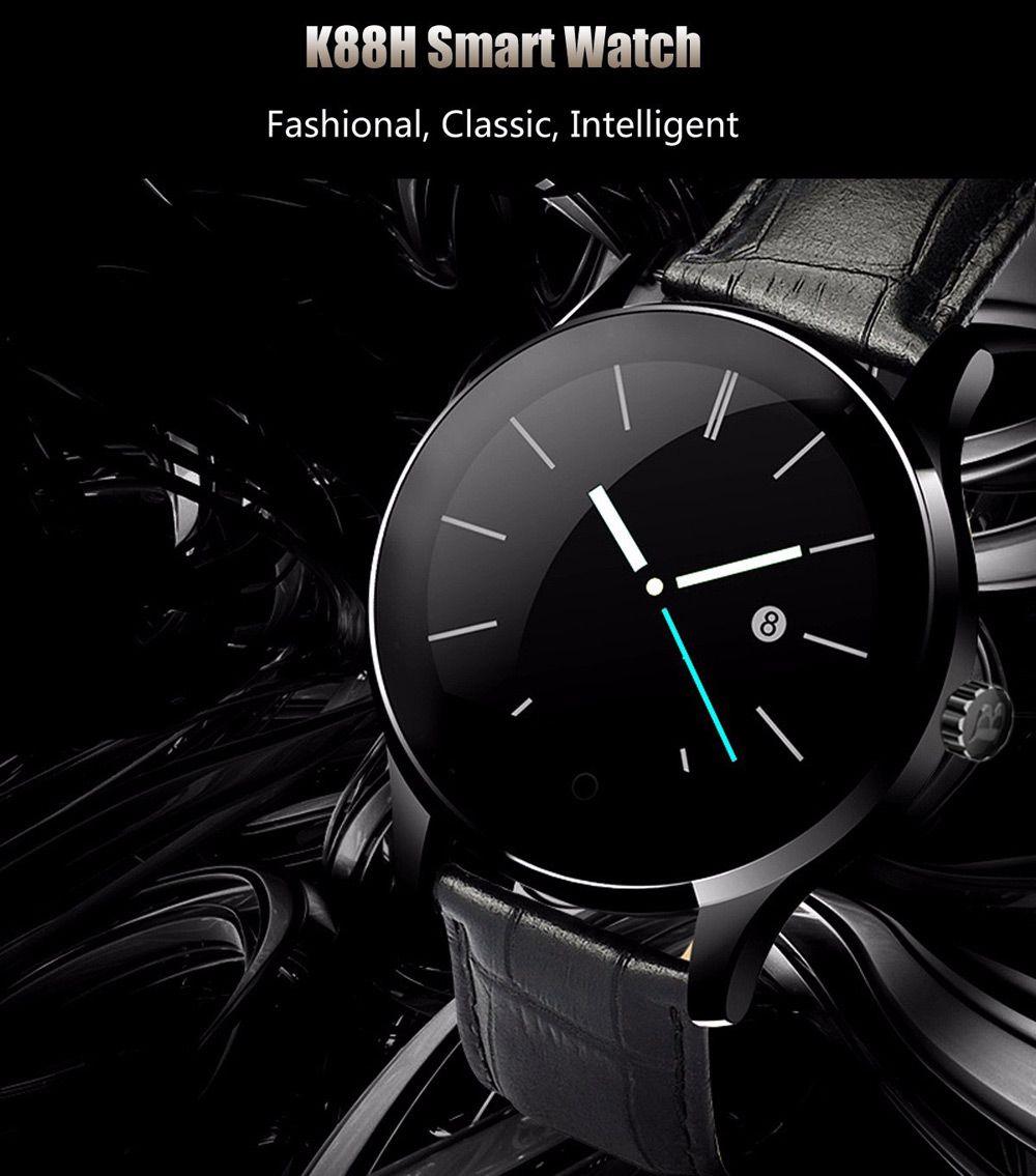 K88H Smartwatch Review A Steel Elegance Smart watch