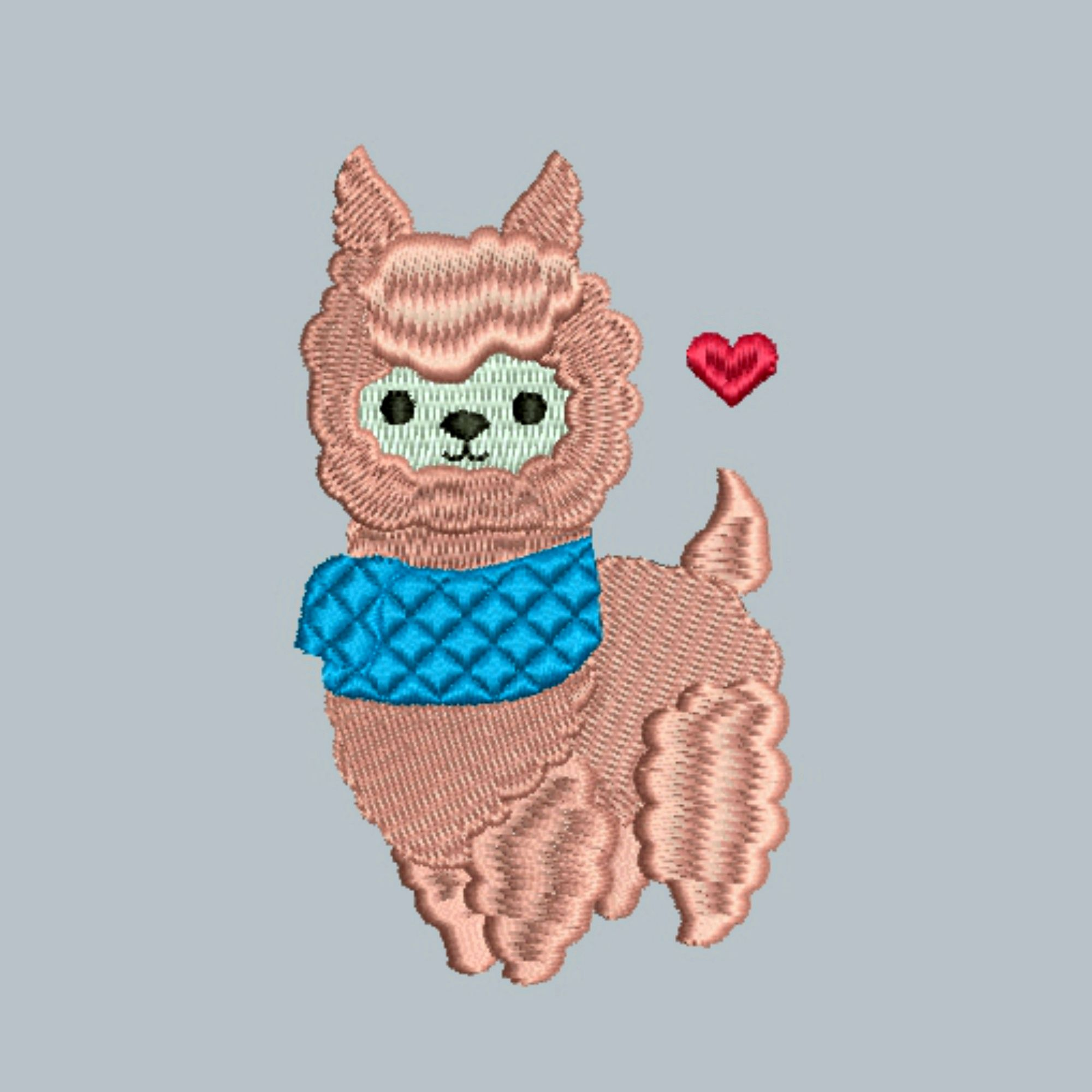 Easter present Machine embroidery design Lama applique embroidery Lama patch Cool Lama design for application Animals design